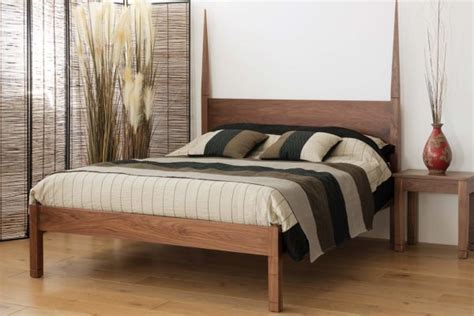 zebrano cube 4 poster bed natural bed company four poster beds hand made wooden beds natural bed company