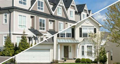 townhouse vs house townhouse vs single family home