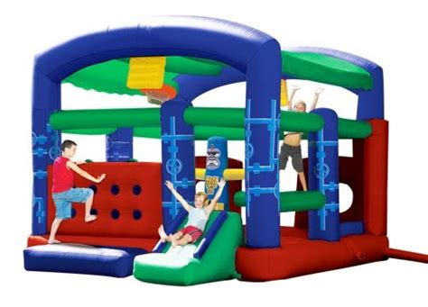 banzai bounce house welcome summer banzai mega obstacle course bouncer