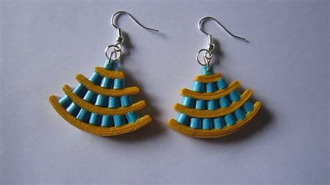 Paper Earrings Handmade Paper Jewellery - handmade jewelry paper quilling earrings not