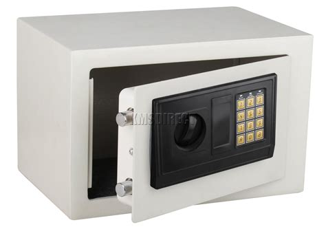 foxhunter white safe security digital electronic steel box