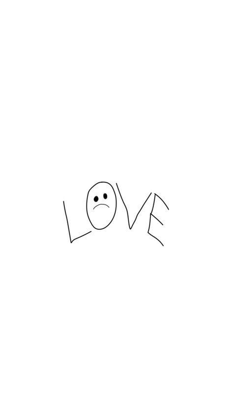 lil peep tattoo lovewallpaper iphone
