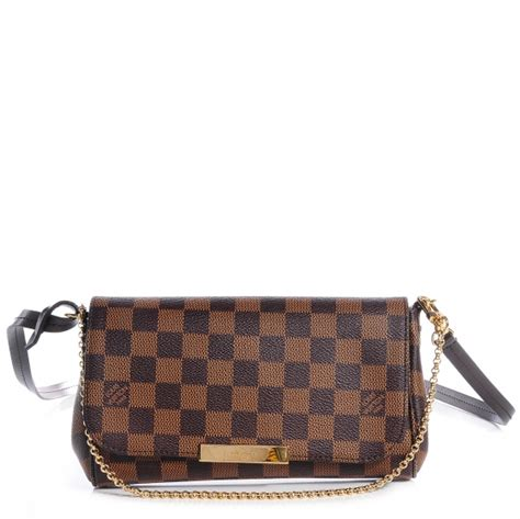 Lv Favorite Pm Ebene louis vuitton damier ebene favorite pm 75607