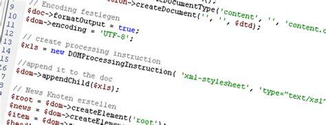 domdocument php tutorial xml mit php komplexe xml dokumente erstellen der entwickler