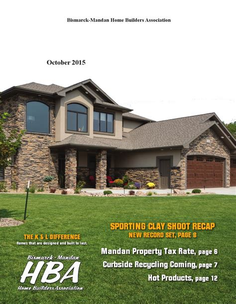 october 2015 building buzz by bismarck mandan home