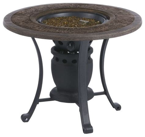 gas table pit living accents srgf21203 gas pit table 28 quot 12000