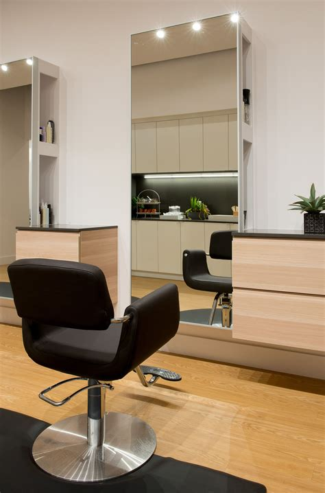 salon station layout light sleek and modern salon station salon ideas