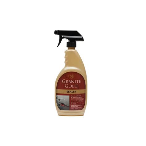 Granite Countertop Sealer Shop Granite Gold Sealers 24 Oz Granite Sealer At Lowes