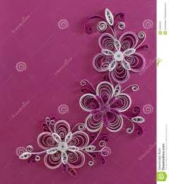 Flower Vase Design Pictures Quilling Flowers Stock Illustration Image 41085421