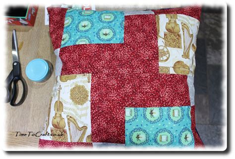 Patchwork Craft - easy patchwork project for children