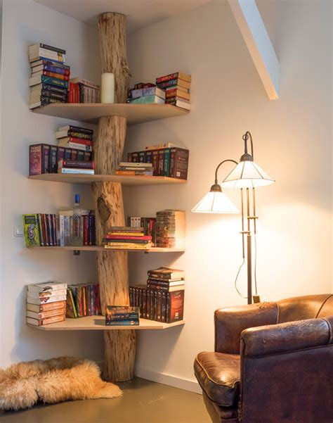 book case ideas 5 unique bookshelves that are actually real trees