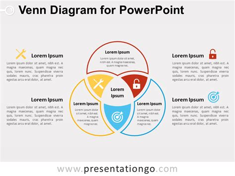 Venn Diagram For Powerpoint Presentationgo Com Venn Diagram Template Powerpoint