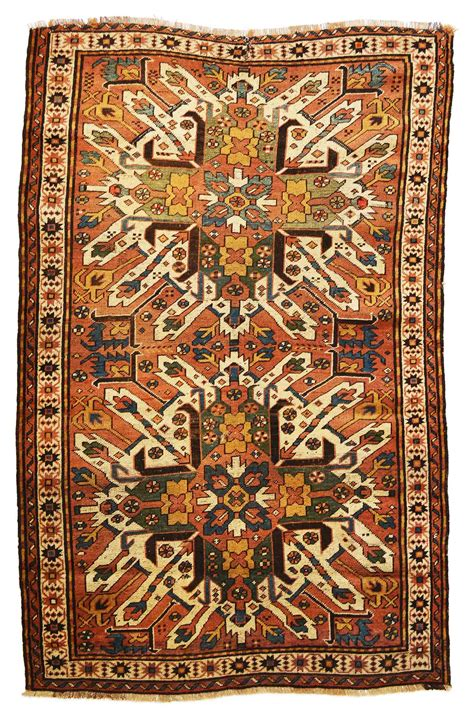 antique rug appraisal 4ft 6in x 7ft 0in antique eagle kazak circa 1900 kaoud antique rugs guilford ct