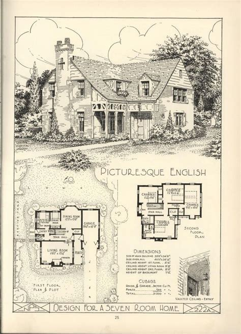 vintage home plans ideas the