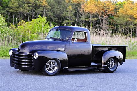 chevy chevrolet pickup rick vrankin s 1948 chevy truck is wicked evil mean