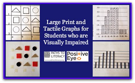 printable graph paper for visually impaired tips to create large print and tactile graphs for students