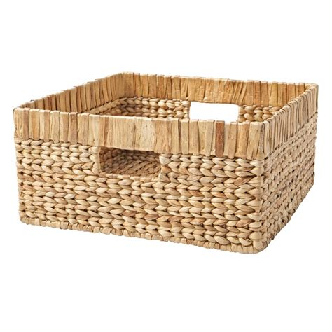 Wicker Baskets For Changing Table Large White Changer Basket Liner The Land Of Nod