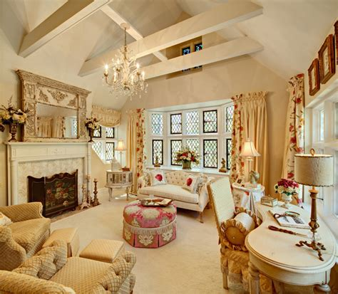 womans cave traditional living room  york