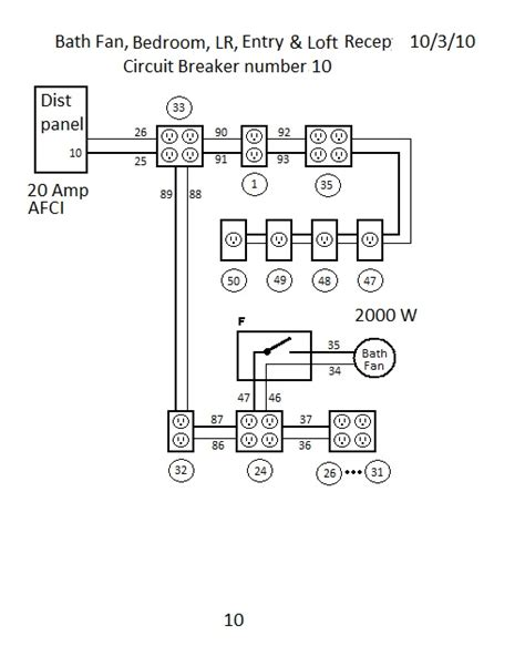 chain electrical outlets wiring diagram free