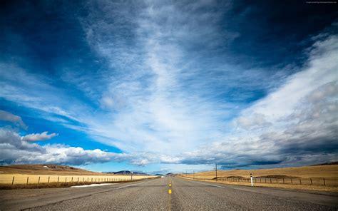 wallpaper 4k road wallpaper road 4k hd wallpaper clouds day sky dream
