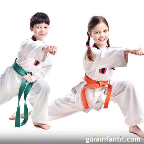 imagenes de niños karate el tae kwon do en la infancia