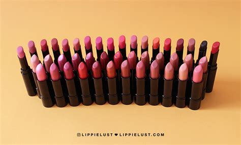 Lipstick Makeover Lust review make lipstick collection ultra hi matte lust ultra shine lippielust