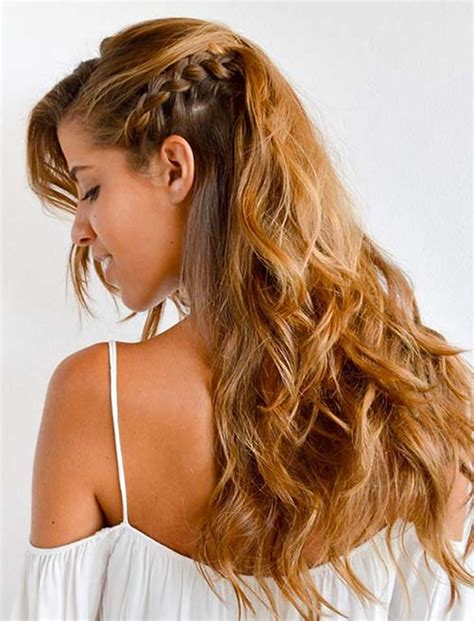 one side braid hairstyles 100 side braid hairstyles for long hair for stylish ladies