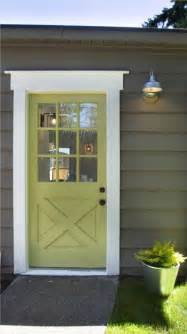 Exterior Back Doors Modern Cottage Punchy Doors