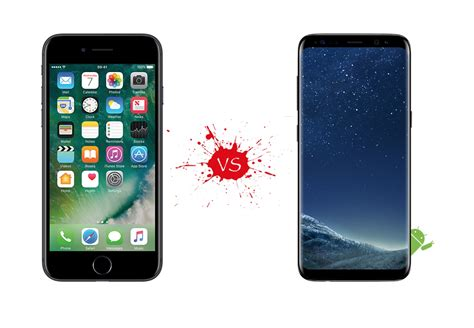 iphone or samsung samsung galaxy s8 vs iphone 8 your move apple your mobile