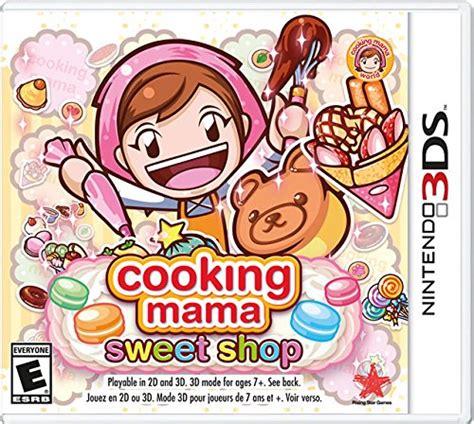 cooking sweet shop nintendo 3ds