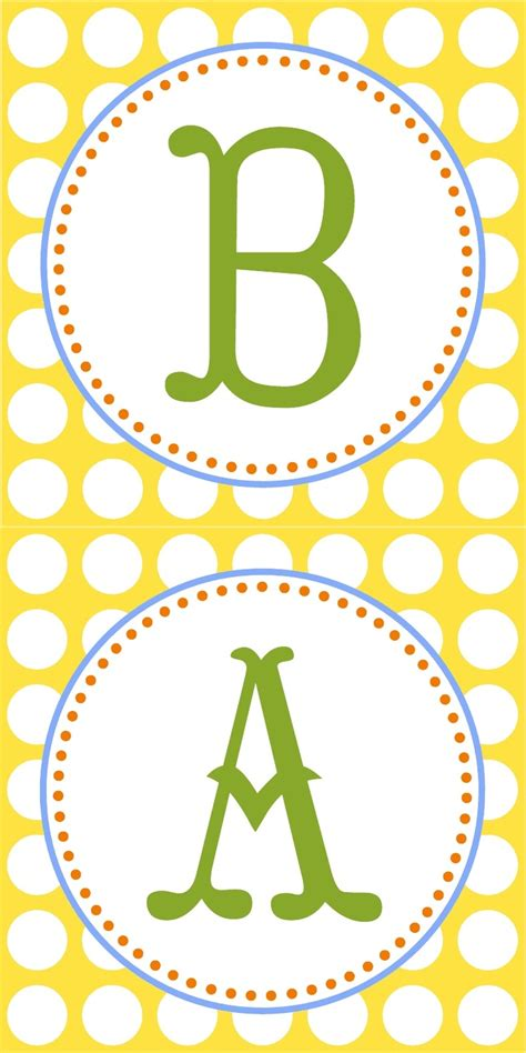 printable garland letters 140 best abc and 123 images on pinterest printables