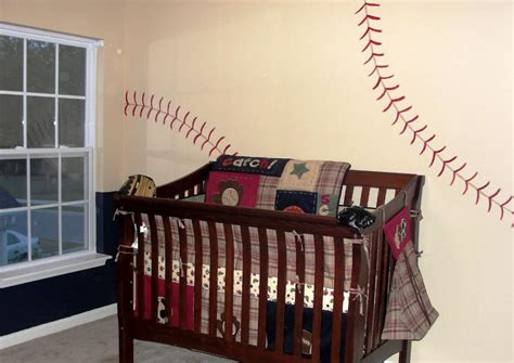baseball baby bedding baby nursery decor creative hand painted baseball baby nursery contemporary colorful