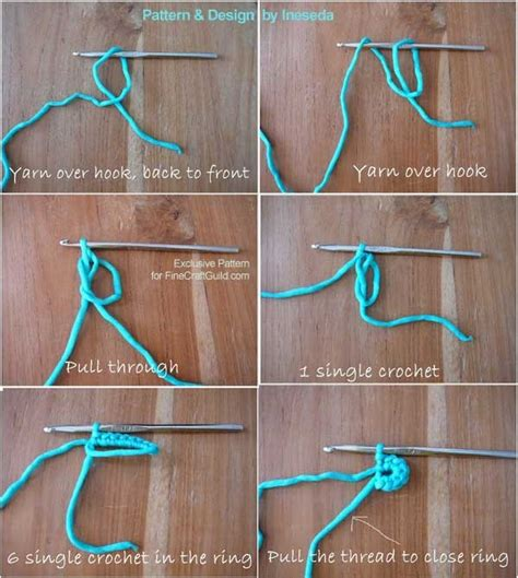 pattern magic tutorial crochet magic circle tutorial squareone for