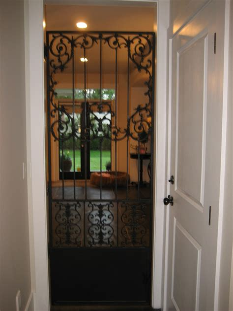 Iron Pantry Door by Pantry Wrought Iron Door For The Home