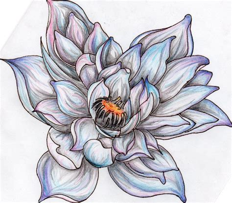 lotus flower design tattoo lotus design with many petals