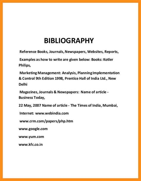 Meaning Of Bibliography In Report Writing by 9 Sle Bibliography For History Project Agenda Exle