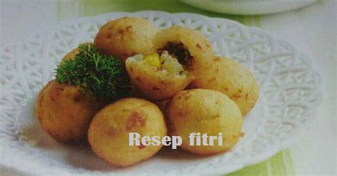 cara membuat donat kentang isi daging resep resep kroket kentang bola isi daging oleh zaskia