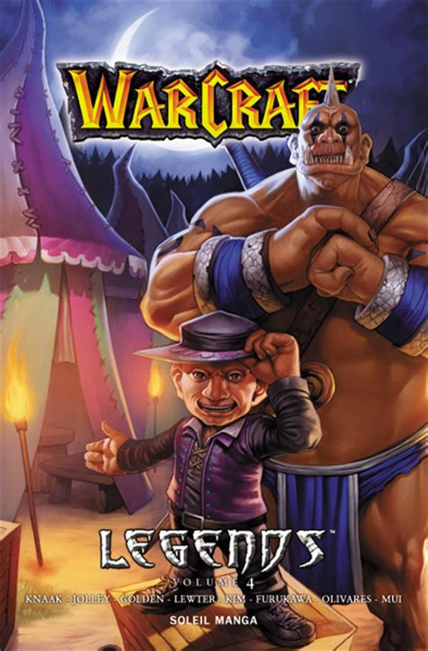 libro warcraft legends vol 4 warcraft legends manga info critique avis mangagate