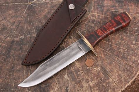 custom made bowie knives handmade bowie knives gallery