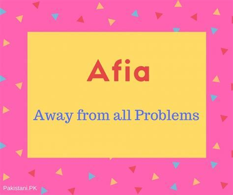 What is Afia Name Meaning In Urdu   Afia Meaning is ??? ??
