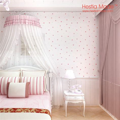 light pink wallpaper for bedrooms paper wallpaper pink sweet flowers korean style