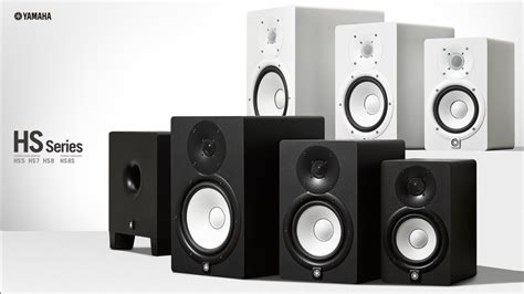 Yamaha Studio Monitor Speaker Hs 8i Hs8i Hs 8i hs series speakers products yamaha