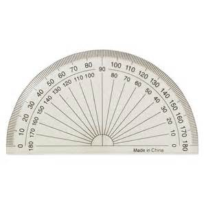 protractor template to print printable protractor actual size