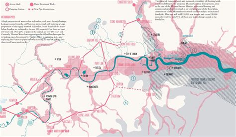 river thames flood plain map thames barrier landscape interface studio