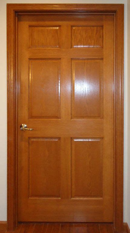 6 panel interior doors 6 panel oak veneer interior door pennwest homes