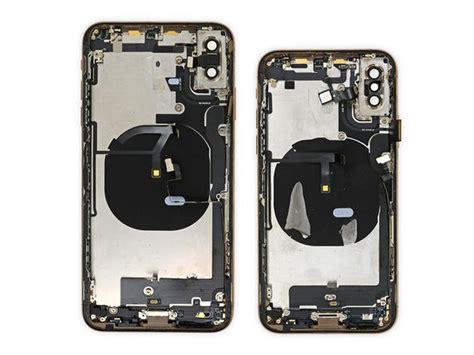 iphone xs xs max show  battery origami  ifixit teardown cnet