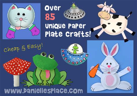 Paper Crafts For Teenagers - paper plate crafts for