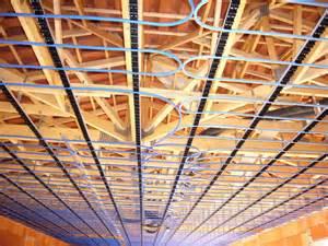 plafond chauffant avec pac pompe a chaleur chauffage