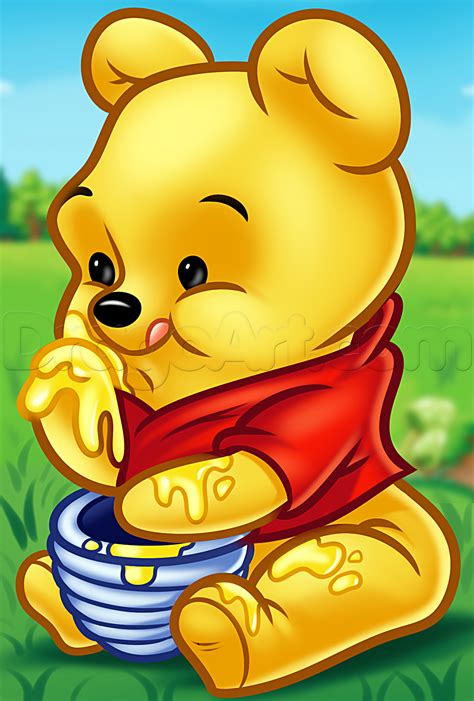 Winnie The Pooh learn how to draw chibi winnie the pooh pooh disney