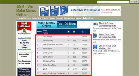 Top Make Money Online Blogs - 블로거팁닷컴 온라인으로 돈버는 방법에 관한 블로그 top 100